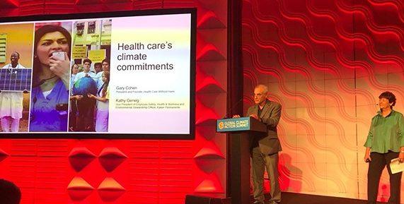 Cambio climático: la salud, en el centro de la escena