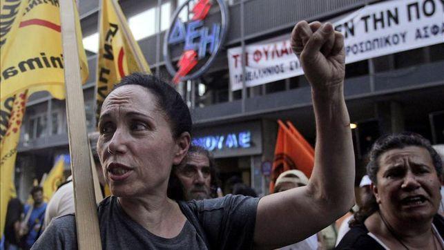 Así es el hambre del ajuste en Grecia